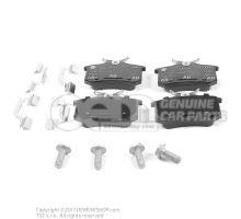 1 комплект тормозных колодок для дисковых тормозов 1J0698451K