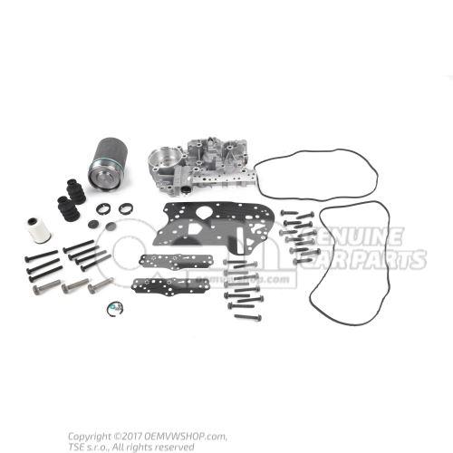 Genuino 0AM DQ200 kit de reparación del cuerpo mecatrónico / acumulador P17BF, reparación OEM02546213