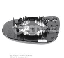 Miroir (aspherique - grand droite d conduite à droite 5K0857522D