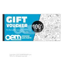 oemVWshop подарочная карта - 100€