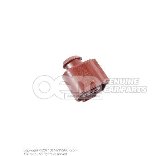 Boitier contact plat avec verrouillage par contact 3B0973703A