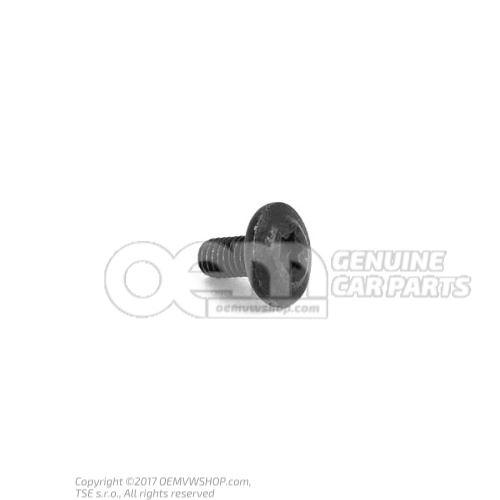 N  90646201 内六角圆头 平头螺钉 M6X12