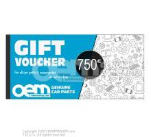 oemVWshop Tarjeta de regalo - 100€ OEM02252250