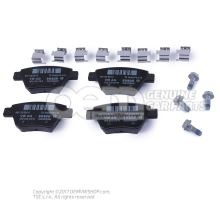 1 set of brake pads for disk brake 5K0698451C
