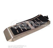 Revetement pour repose-pieds aluminiun 4G1864777A 3Q7