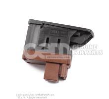 Switch for spoiler adjustment nero (black) Audi RS5 Coupe/Cabriolet Quattro 8T 8K1927521 V10