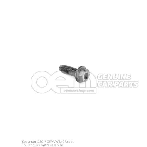 N  90945002 Винт с 6-гранной головкой, буртиком и внутр. 6-гранником M7X21,5