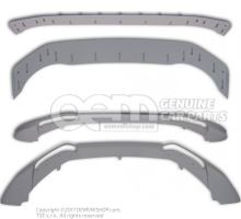 Front spoiler complete with assy instr. and assembly material primed Audi A5/S5 Coupe/Sportback 8K 8T0071053 9AX