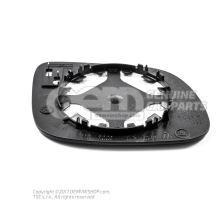 Miroir (convexe) avec plaque-support Skoda Fabia 6Y 6Y1857522A