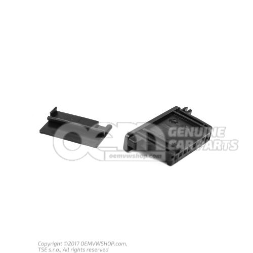 Flat contact housing connection piece harness harness for door