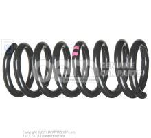Ressort helicoidal traits couleur violet 251411105F 952