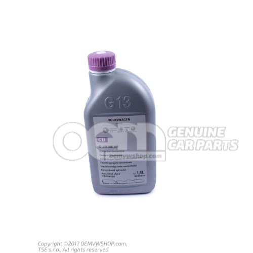 Coolant concentrate 1.5 ltr. G 013A8JM1
