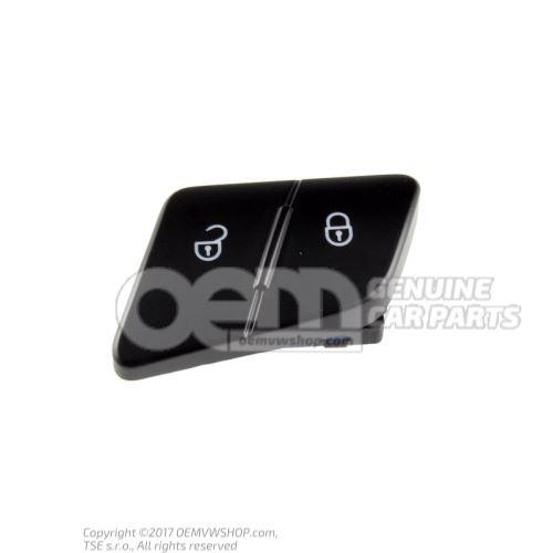 Contacteur de securite p. verrouillage central noir/blanc 3C0962125B REH