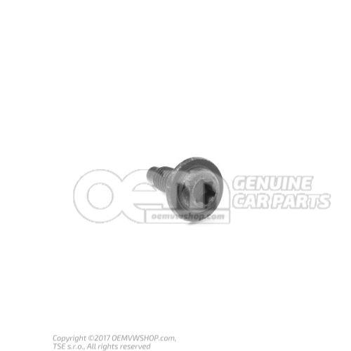 N  90816301 内六角圆头/半圆头螺栓 M6X18