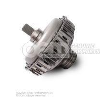 Multi-plate clutch for dual clutch gearbox 0B5141030E