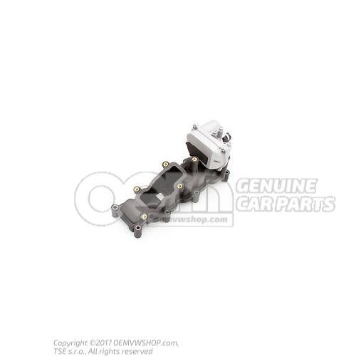 Colector de admision der. Volkswagen Phaeton 3D 059129712BT