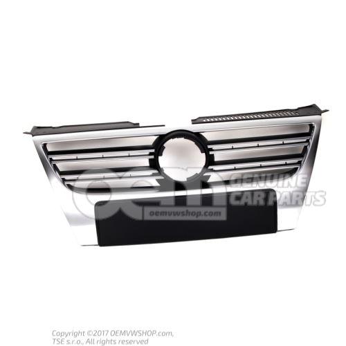 Calandra con molduras embellecedoras cromadas calandra aluminio Volkswagen Passat 3C 3C0853651P 3Q7