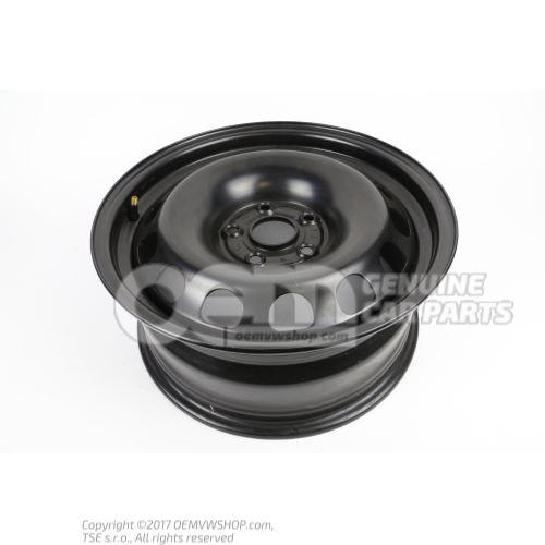 Steel rim rally black 3B0601027F 03C