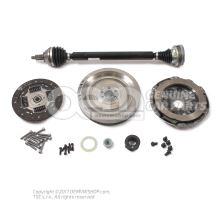 Repair kit for dual mass flywheel Audi VW Skoda Seat diesel engines 6C0198105