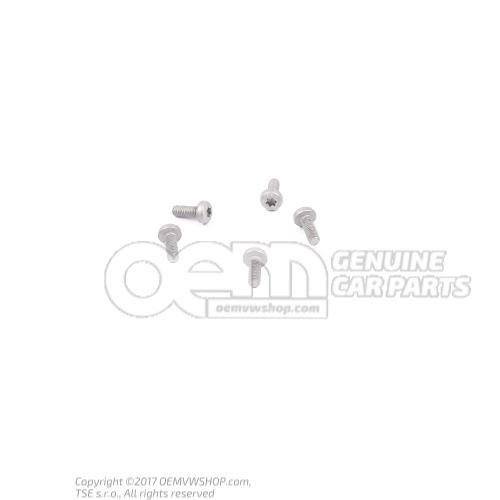 N  10451408 内六角圆头/半圆头螺栓 M6X16