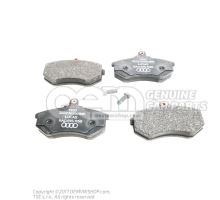 1 set of brake pads for disk brake 8A0698151B