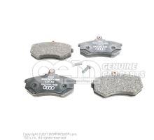 1 комплект тормозных колодок для дисковых тормозов 8A0698151B