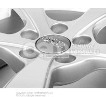 Aluminium rim diamond silver
