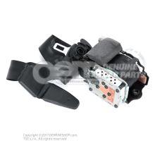 Three-point inertia reel seat belt with belt tensioner and belt pressure limiter black/sat Audi A5/S5 Coupe/Sportback 8K 8T8857705F V04