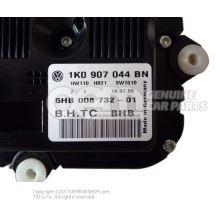 Панель управления и индикации бу климатической установки с электронным управлением 1K0907044BN