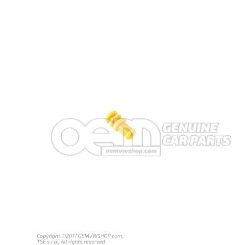 Single wiring seal yellow orange 3C0972741
