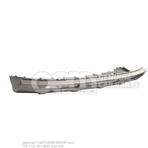 Bumper cover aluminium silky smooth lower centre 1Z0807733  U34