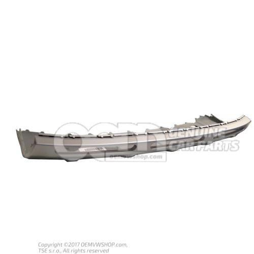 Cubierta del parachoques aluminio brillo seda 1Z0807733 U34
