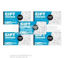 oemVWshop Tarjeta de regalo - 100€