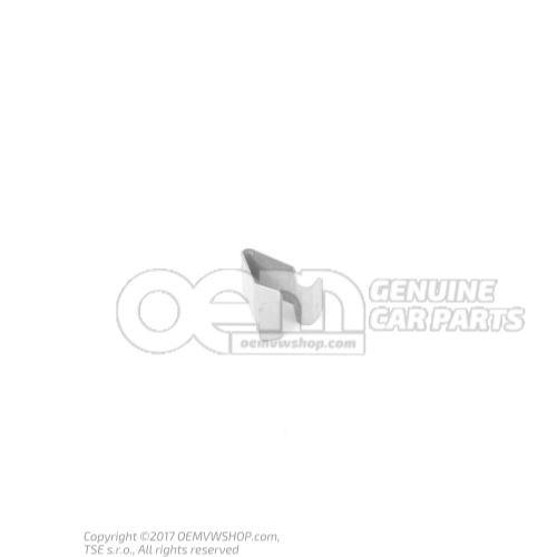 Agrafe p.vehicule protection speciale couvercle revetement du capot de coffre revetements de coffre conduite à gauche conduite à droite droite av sup. gauche et droite sup. ext. milieu haut lat. 4A0867276A