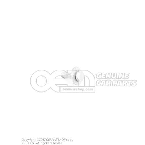 N  10009507 Vis 6 pans (avec rondelle) M6X18