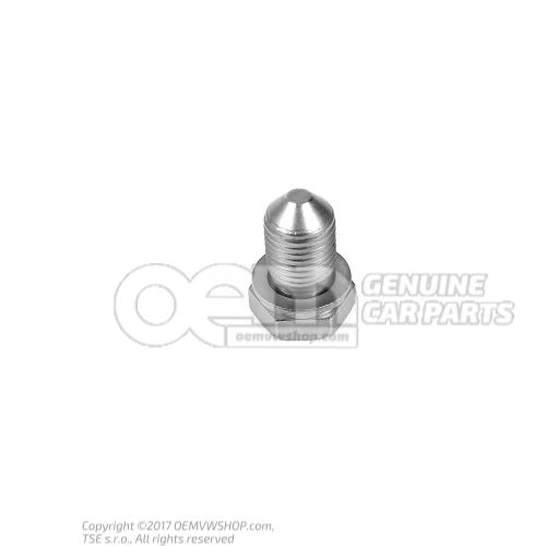 Oil drain plug If required