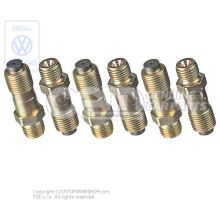 1 set connector unions with restrictor 059198795