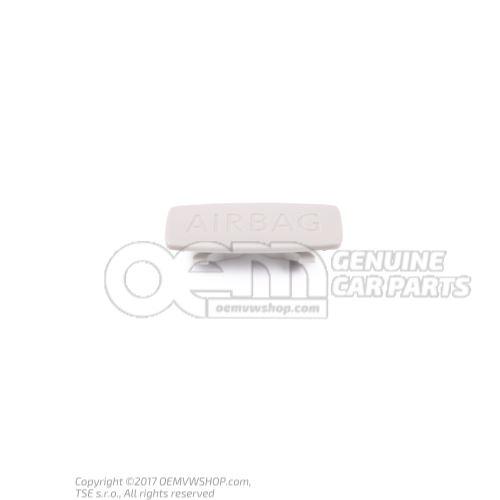 Cache avec logo gris perle 5G0853437  Y20