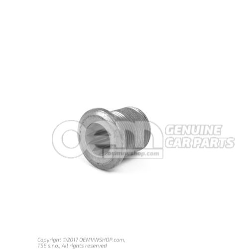 Threaded sleeve with multi- point socket drive 020311308C