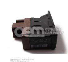Spínač nastavenia spojlera nero (čierny) Audi RS5 Coupe / Cabriolet Quattro 8T