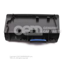 Mounting for cellphone titan black Volkswagen Polo Hatchback 6R 6C0864113 FLV