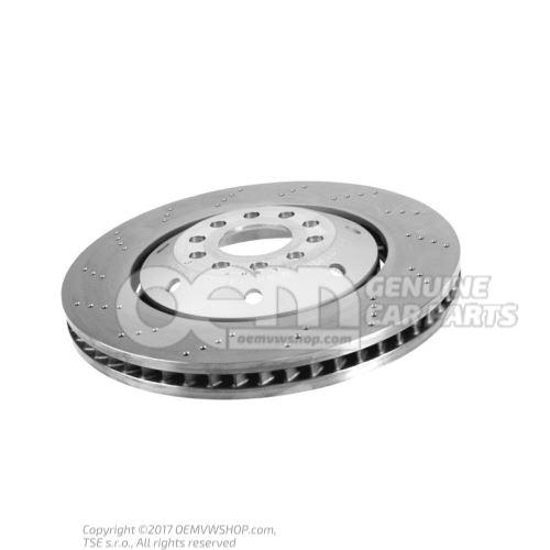 Brake disc (vented) left Audi RS6/RS6 plus/Avant Quattro 4B 4B3615301E