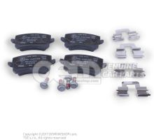 1 set of brake pads for disk brake \\\eco\\\ JZW698451G