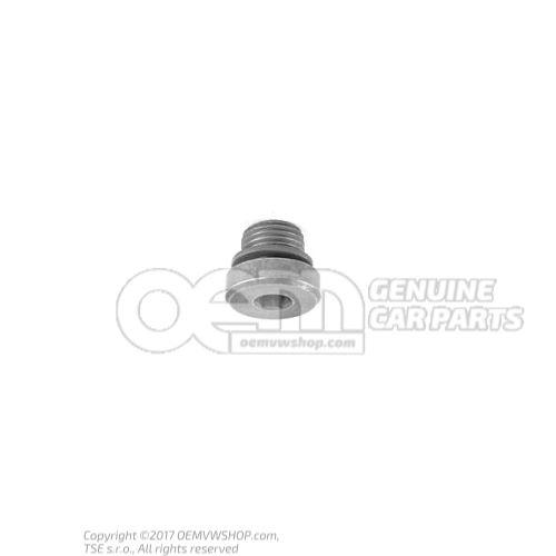Vis-bouchon avec bague-joint 018321377B