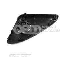 Loudspeaker trim soul (black) 8R0035424A 4PK