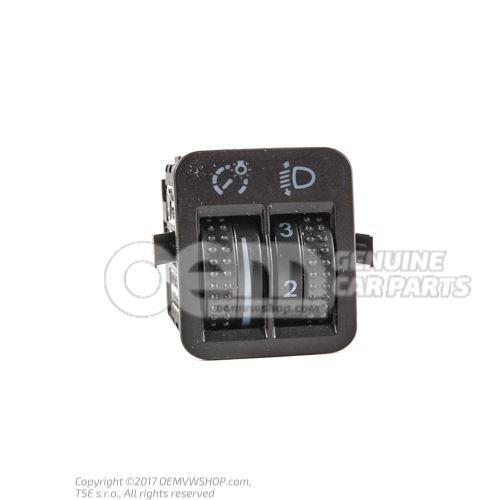 Regulat. p. eclairage planche de bord et reglage de la portee projecteurs 1J0941333A