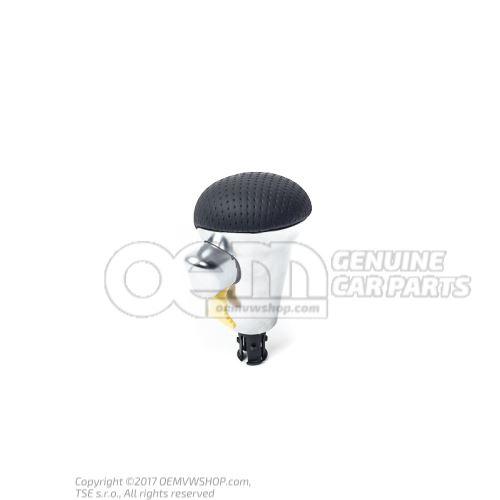 Gearstick grip (leather) soul (black) 8P2713141C QBZ