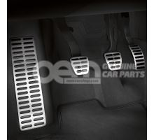 Foot rest and pedal caps in stainless steel Audi A1/S1 8X 8X1064205
