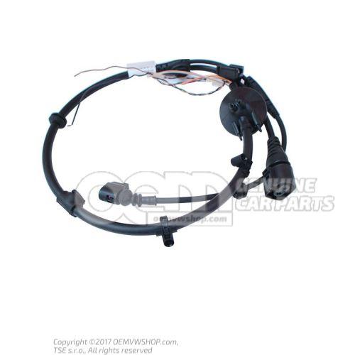 Faisceau cables pour capteur de vitesse de roue et frein de stationnement electronique 4F0972254F