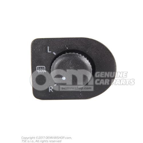 Interrupteur pour retroviseur a reglage electrique et chauffant noir satine 1J1959565F 01C